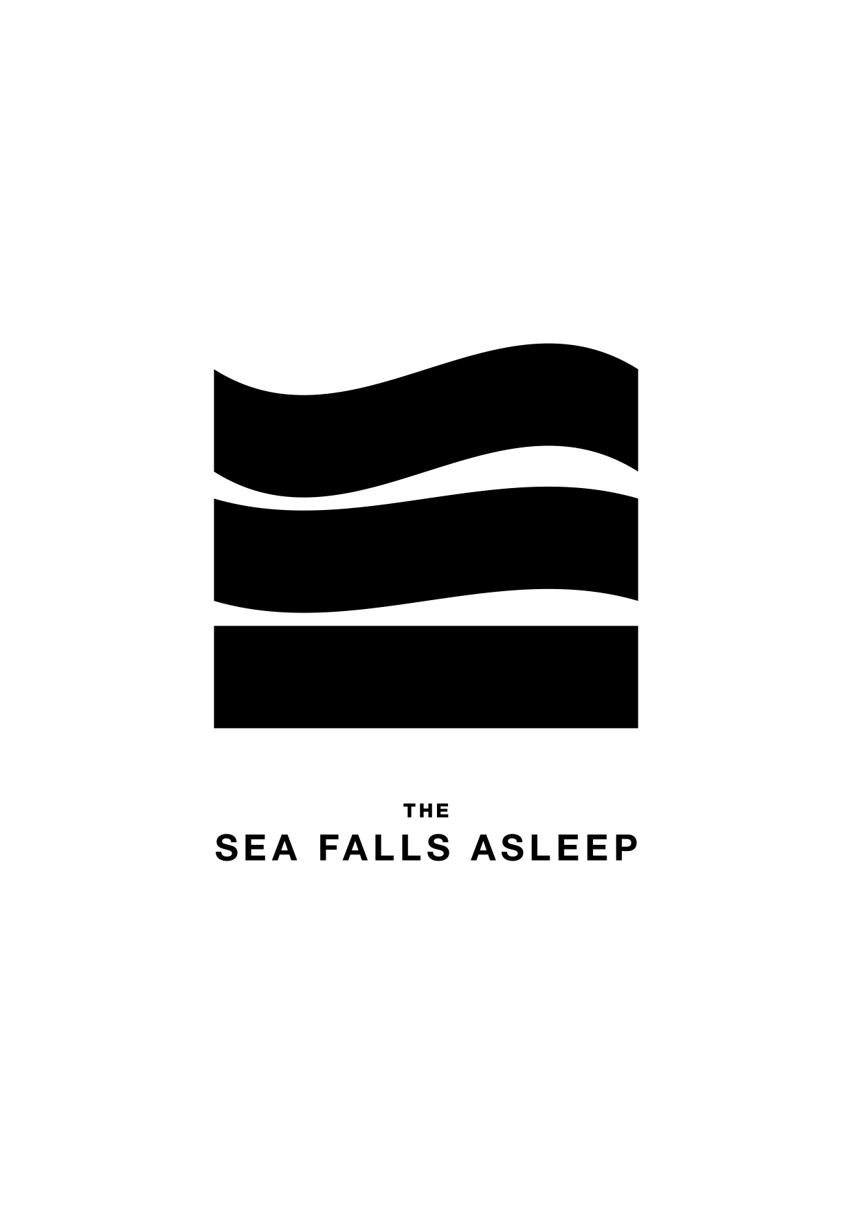 the sea falls asleep